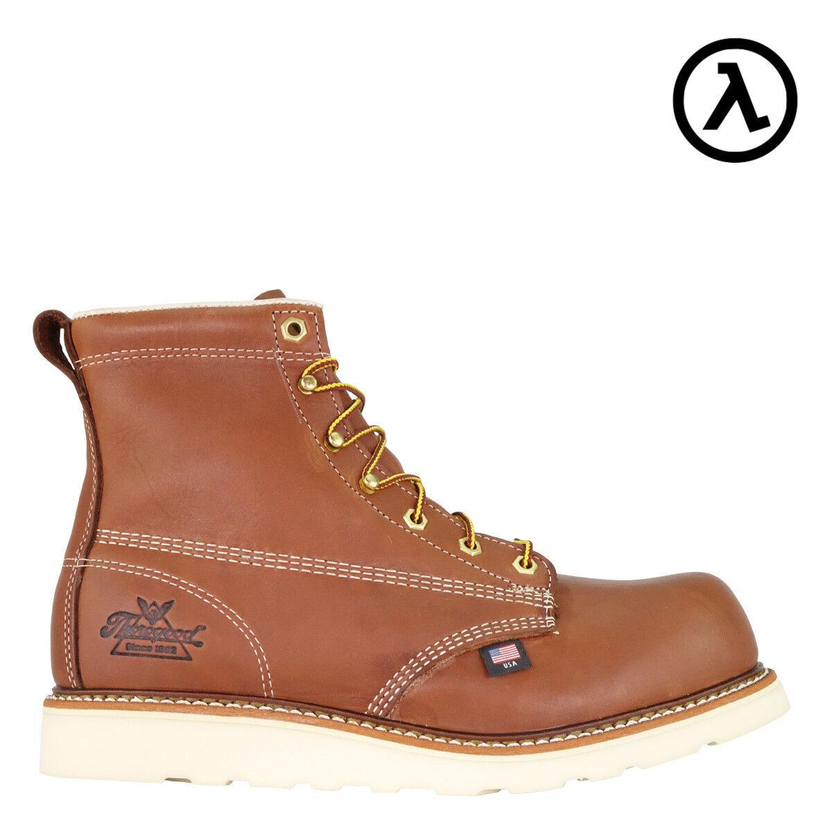 Thorogood American Heritage CT cuña EH 6  botas de trabajo 804-4655 - todos Los Tamaños