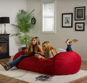 Image Is Loading Extra Large Bean Bag Chair Dorm Lounger 6