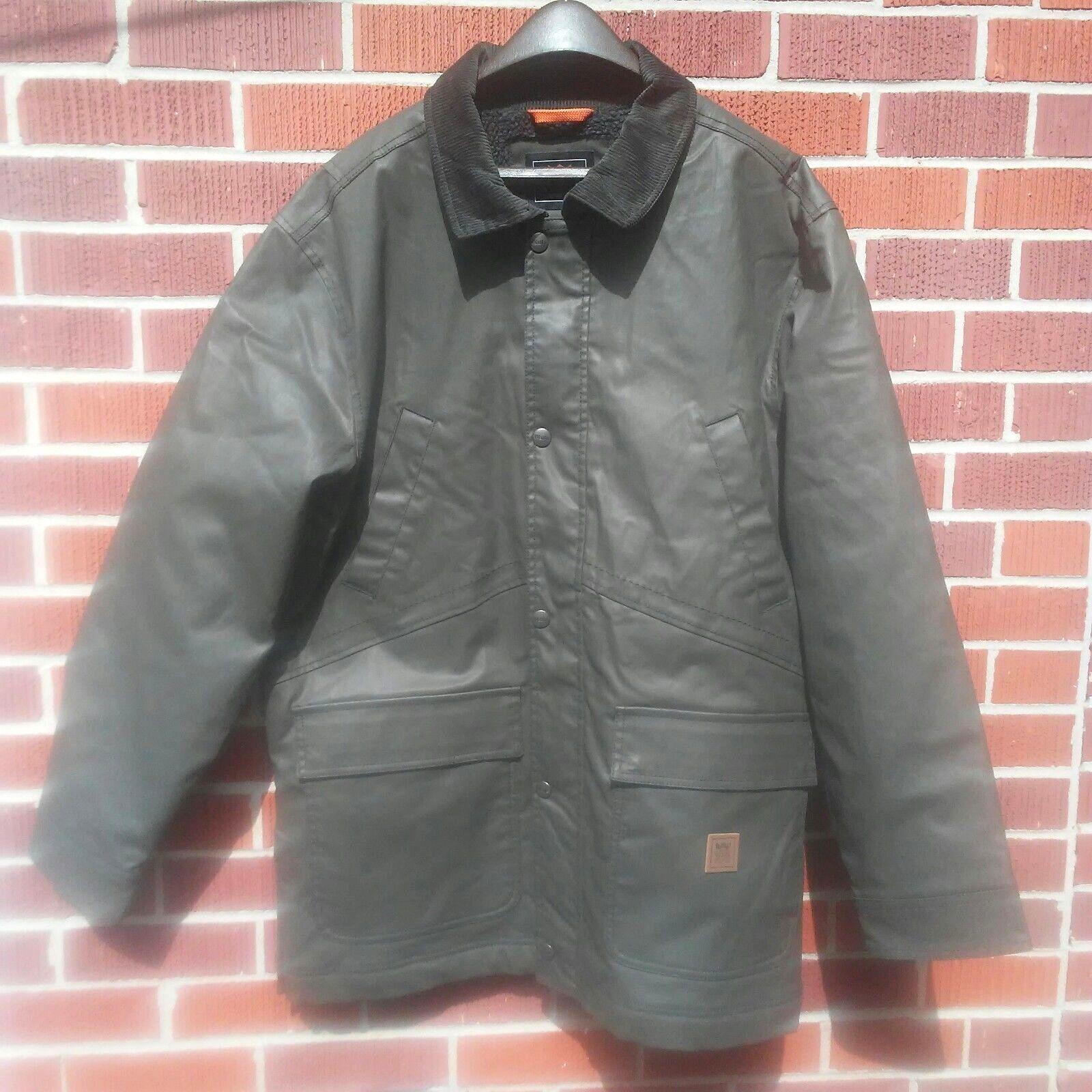 Walls Outdoor Goods Thinsulate Men's L G G Olive Green Coat (Measures XXL)