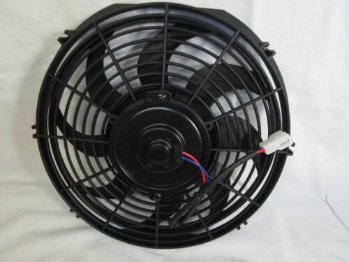 "Chevy Biscayne Custom Aluminum Radiator Shroud /& 2-12/"" Fans-16/""H x 25 1//4/""W 289"