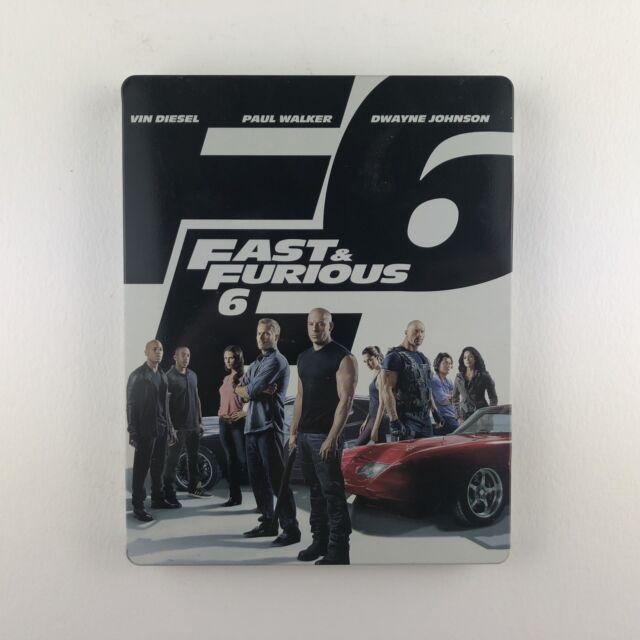 Fast & Furious 6 (Steelbook) (Blu-ray, 2014) *US Import Region Free*