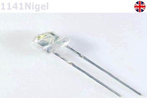 3.2-3.8V F5 5mm Pink Straw Hat Superbright LED Light LED lamp Pack of 5-10