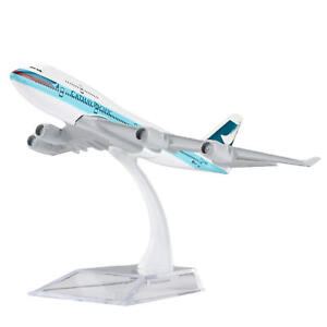 B747-Cathay-Pacific-Airline-Diecast-Models-Aircraft-Aeroplane-Plane-1-400-16cm