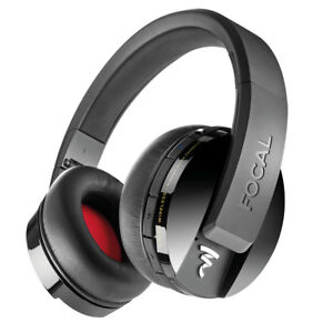 0e79f1798b5 Focal Listen Wireless Over-ear Bluetooth Headphones Black 2day Delivery