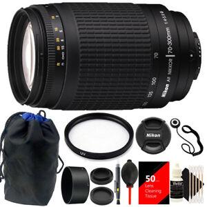 Nikon-AF-Zoom-NIKKOR-70-300mm-f-4-5-6G-Lens-62mm-UV-Filter-Accessory-Kit