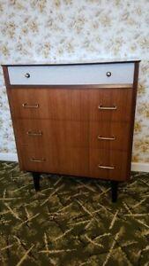 Vintage Retro Bedroom Furniture Set 1960s Ebay