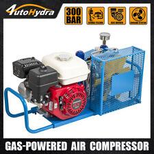 4utohydria 55hp Gas Engine 35cfm 4500 Psi High Pressure Air Compressor