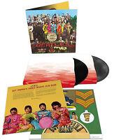 The Beatles LP x 2 Sgt Pepper's 50th ANNIVERSARY Vinyl Extended Sealed Spec Ed