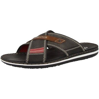 Rieker 21053 45 Sandalen Herren Badelatschen Antistress Schuhe Freizeit Slipper | eBay