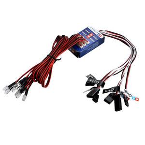 12-LED-Light-System-Kit-Smart-Simulation-Flash-Lights-for-1-10-RC-Car-Truck-New