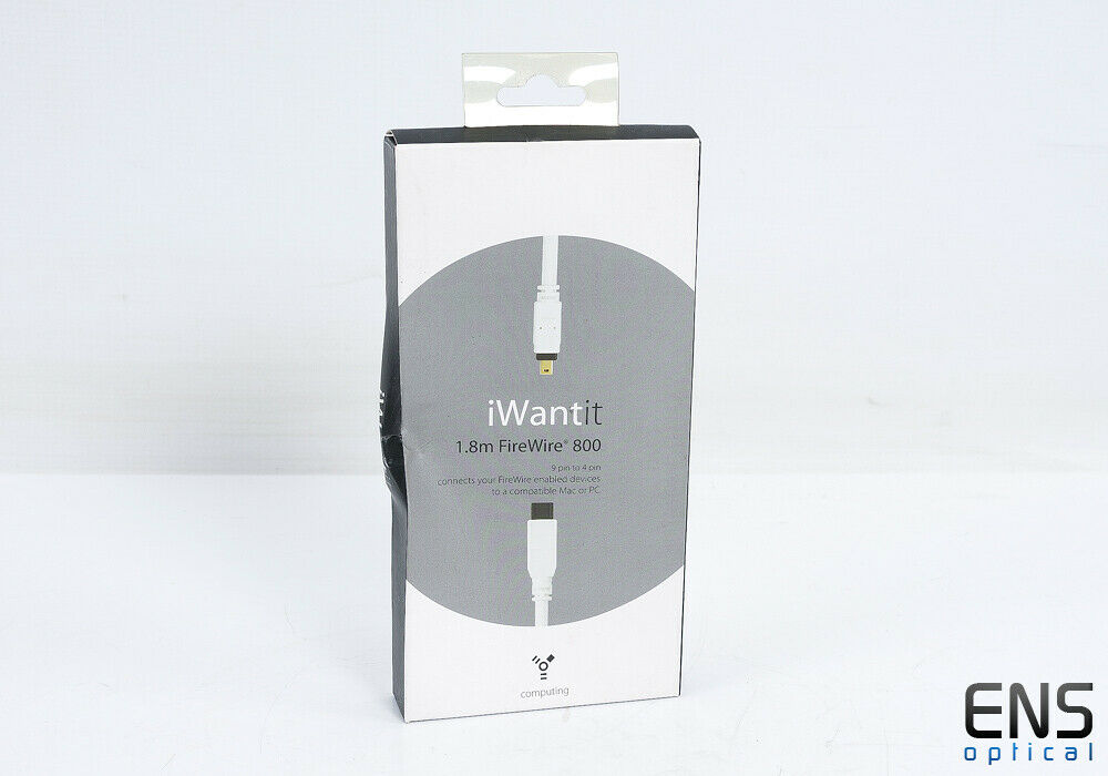 I Want It Firewire 1.8m FireWire 800 - 9 pin to 4 pin - boxed