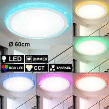 RGB LED Decken Leuchte Sternen Effekt Tageslicht Fernbedienung DIMMER Lampe 78cm