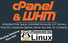 Unlimited Cpanel Whm Web Hosting Unlimited Disk Data Accounts Usa Servers