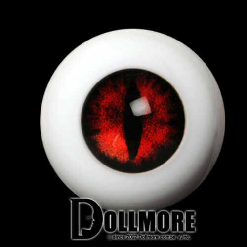 OMeta Half Round Acrylic Eyes CE-08 Cat doll eyes 12mm