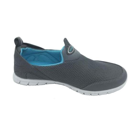 mesdames chaussures cherry koodbee Gris  bleue / nuisette bleue  à pied 10 nouveaux souliers 8a7dff