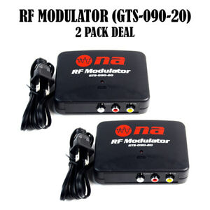 Image Is Loading RF Modulator Universal AV Audio Video Signal Input