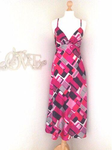 Donna Ex High Street Con Cinturino Lungo in Raso Camicia Da Notte Chemise Taglie SM-XL 8-20