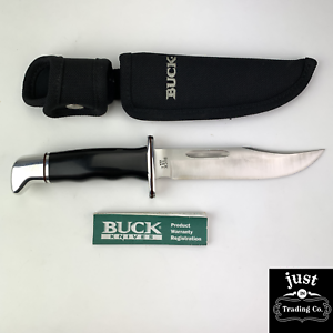 BUCK USA 119 HUNTING SKINNING SURVIVAL BOWIE KNIFE KNIVES VINTAGE