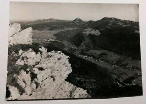566-Antica-Cartolina-Paesaggio-Del-Haut-Doubs-a-Sommet-Del-Monte-D-039-Oro