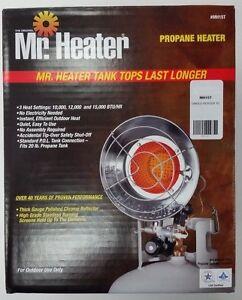 Mr Heater F242100 Mh15t Single Burner Tank Top Heater