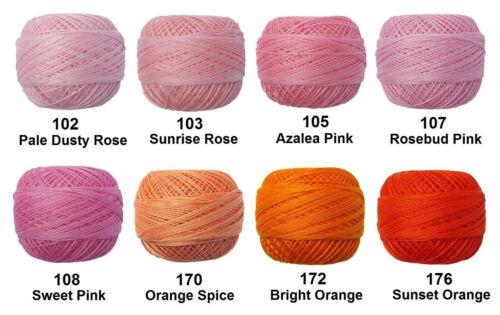 5x 82m VENUS Crochet Cotton Tatting Thread Lace #70 e-mail me Colour Codes