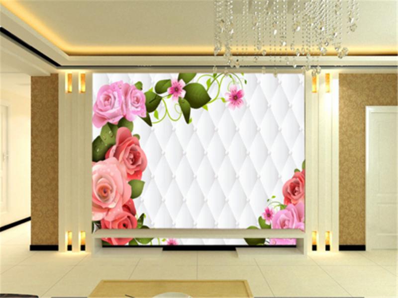 3D Farbeed Flowers 93 Wallpaper Mural Paper Wall Print Wallpaper Murals UK Carly