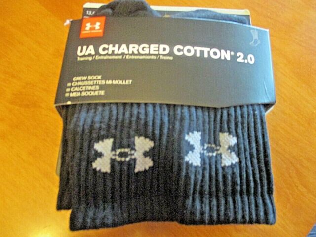 Youth Calcetines Ni/ños Under Armour Charged Cotton Qu