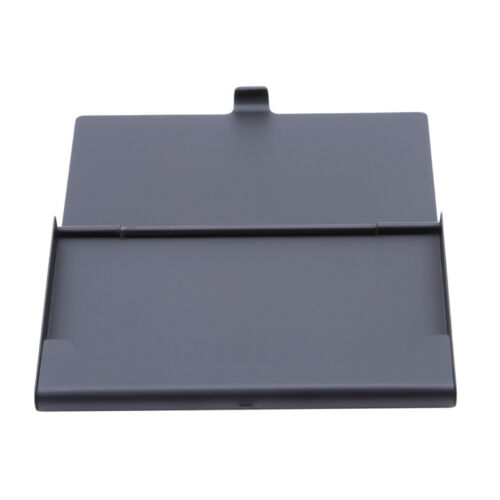 Aluminum Look Credit Card Holder Wallet Case Box Protector Pocket Ladies Mens 6A