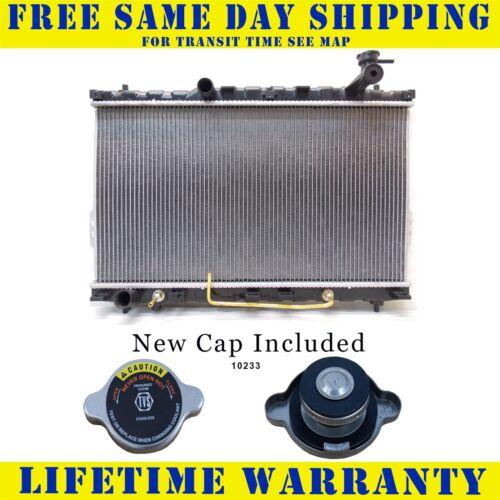 Radiator With Cap For Hyundai Fits Santa Fe 2.4 2.7 L4 4Cyl V6 6Cyl 2389WC