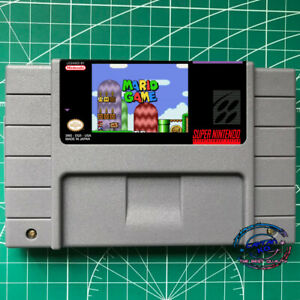 New  Mario Game ✪ ✪ Super Mario World SNES Video Game USA version