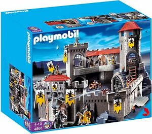 Playmobil-4865-Lion-Knight-039-s-Empire-Castle-7479-Brand-New-Factory-Sealed