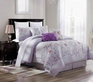 3PC-DUVET-BED-COMFORTER-COVER-SET-LILAC-PURPLE-EMBROIDERY-FLOWERS-BRENDA-11