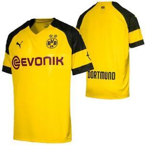 Puma-BVB-Borussia-Dortmund-Herren-Replica-Home-Trikot-Heimtrikot-Fussballtrikot