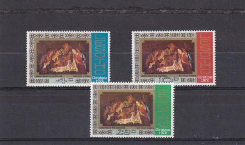 a112 - LESOTHO - SG227-229 MNH 1972 CHRISTMAS