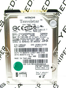 Hitachi 60GB HTS726060M9AT00 IDE 14R9164 Laptop H69557 HardDrive WIPED/&TESTED!