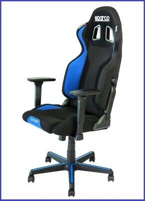 Chaise Grip Noir//Bleu