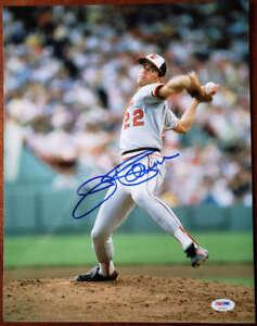 Jim Palmer Psa Dna Coa Hand Signed 11x14 Photo  Authentic Autograph