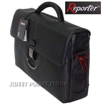 Borsa Cartella Pelle 24ore Reporter Mod: Al0142- Nero Materiale Selezionato