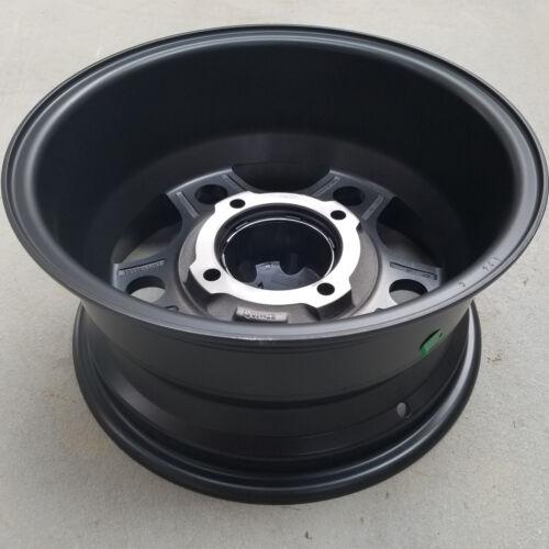 14x7 4//137 5+2 Super Grip ATV UTV RIM 5-Star Black some Kawasaki Honda Can-AM