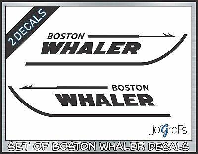 Boston Whaler Vinyl Decal Sticker Free Shipping