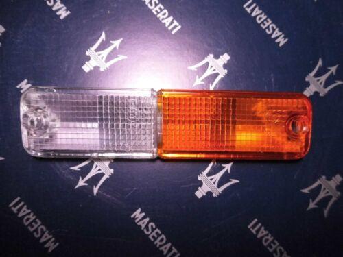 Glas Abdeckung Blinker Standlicht MASERATI  Biturbo Modelle NEU Links LH SX