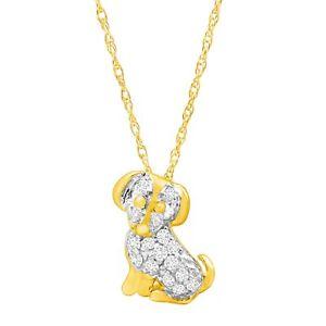 1-10-ct-Diamond-Dog-Pendant-in-10K-Gold