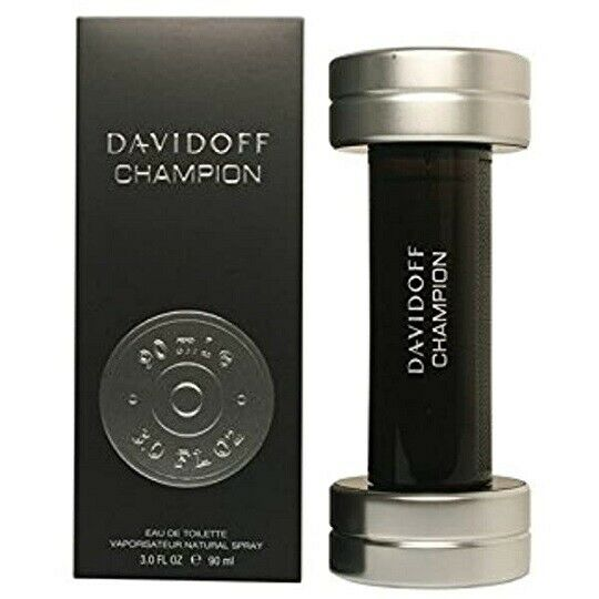 CHAMPION Davidoff Cologne for Men 3.0 oz Spray BRAND NEW IN SEALED BOX