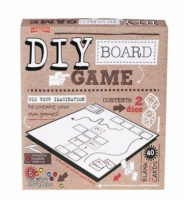 Lagoon Game Reusable DIY Board Game Fun Creative Family Kids CYO Fun Games Gift