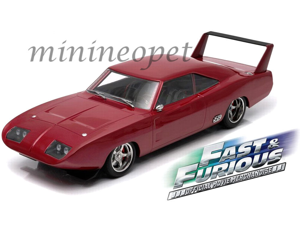 Grünlight - 19003 fast & the furious 6 dom ist 1969 dodge charger daytona 1   18. rot
