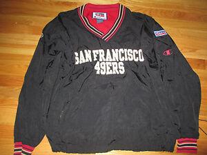 separation shoes 1f1b7 2d484 Details about Vintage Champion SAN FRANCISCO 49ers Pro-Line (LG) Jacket