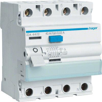 Hager FI Fehlerstromschutzschalter Sicherungsautomat Leitungsschutzschalter MBN