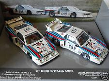 Lancia Beta Montecarlo Giro D'Italia Alboreto Patrese 1980 1/43 Best 2 Car Set