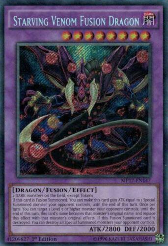 1st Ed Secret Starving Venom Fusion Dragon INOV-EN038 NM YuGiOh