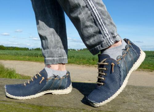 bisher 179,90 39 blau Boots Stiefelette Leder neu Rovers Halbschuh Gr